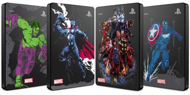 Seagate가 PS4용 Marvel Avengers 리미티드 에디션 Game Drive를 출시했다