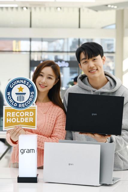LG전자가 2021년형 LG 그램을 공개했다