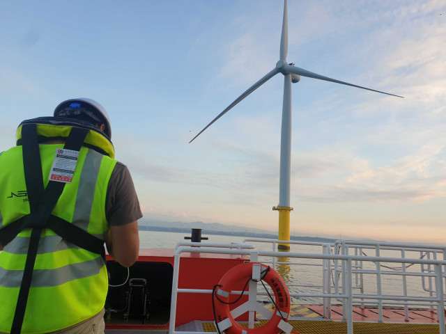 Offshore Wind Turbine Blade Inspection with Siemens Gamesa RE and Formosa I Wind Power Ltd.