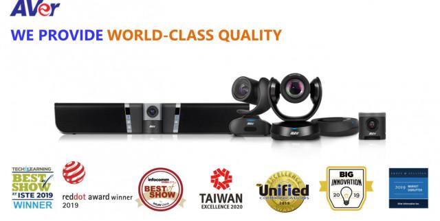 AVer Information의 USB 대표 모델 2개가 조달청과 다수공급자 계약을 체결하고 조달청 나라장터에서 판매를 시작했다