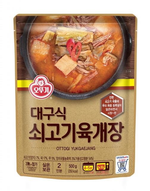 오뚜기 대구식 쇠고기육개장