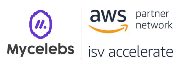 마이셀럽스가 아마존웹서비스의 ISV Accelerate 프로그램에 선정됐다