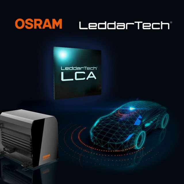 LeddarTech가 업계를 선도하는 LiDAR 하드웨어와 소프트웨어 부품을 OSRAM의 PERCEPT™ LiDAR 플랫폼에 공급하는 내용의 장기 협약을 맺었다