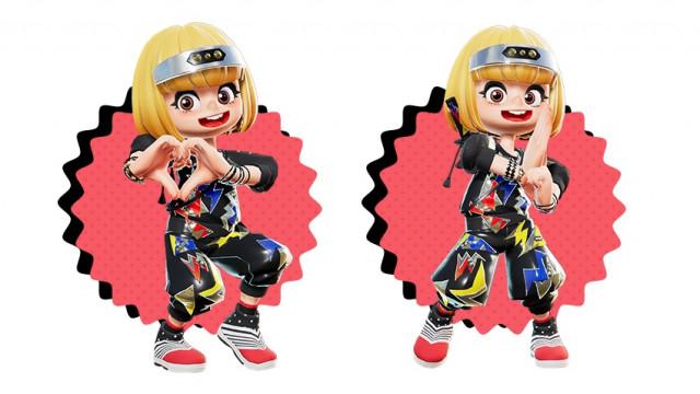 Ninjala와 'Gum Gum Girl!'의 컬래버레이션 상품