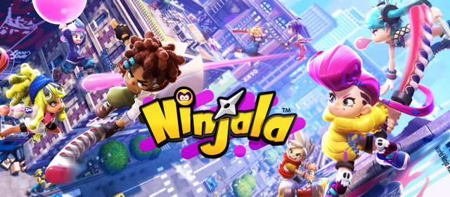 Nintendo Switch용 대전 닌자 껌 액션 게임 Ninjala