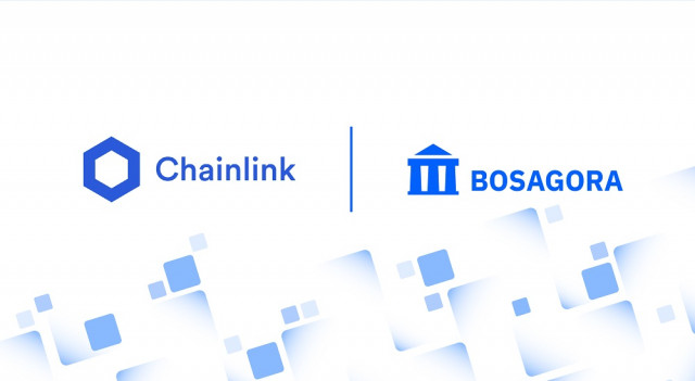 BOSAGORA integrates with a decentralized Oracle network Chainlink