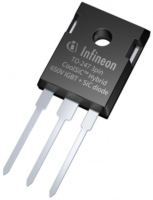 650V CoolSiC Hybrid IGBT 3pin