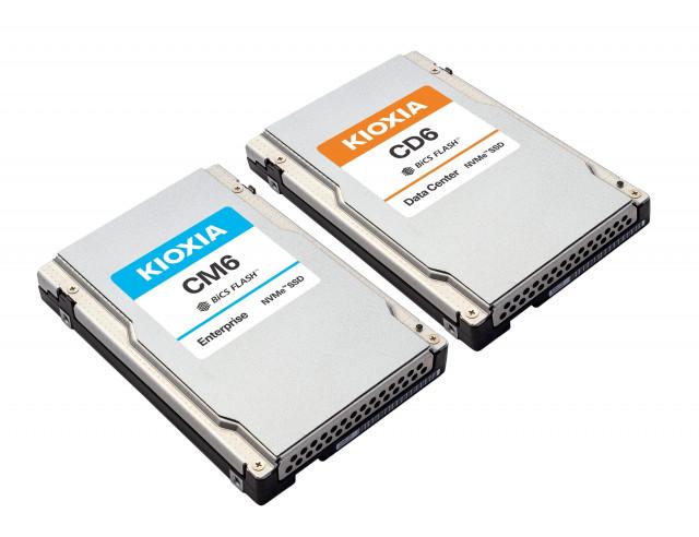 키옥시아 CM6, CD6 시리즈 PCIe® 4.0 NVMe™ SSD