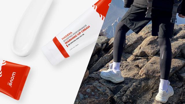 웨이브컴퍼니가 MZ 세대의 등산 필수품으로 자리잡을 '마데카 부스팅 퍼포먼스 워밍업 크림'을 출시했다