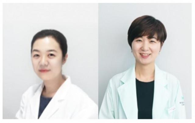 왼쪽부터 아토머스 심리 케어센터 오지희 원장, 박윤정 원장