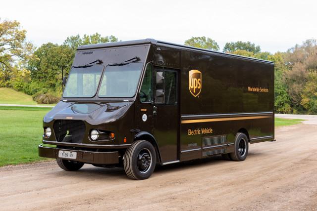 글로벌 기술 기업 SEA Electric이 개발한 SEA-Drive® 120b 파워시스템으로 구동되는 UPS 상용차량 SEA Ford F-59 EV