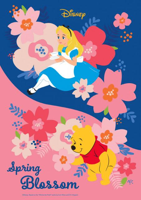 디즈니코리아가 공개한 스프링 블라썸 캠페인 포스터