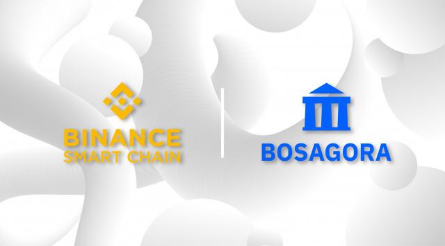 Public blockchain platform BOSAGORA links BOA with Binance Smart Chain, the blockchain platform of B...