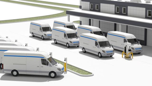 ABB와 아마존웹서비스가 전기 자동차 기술 개발을 위해 협력한다