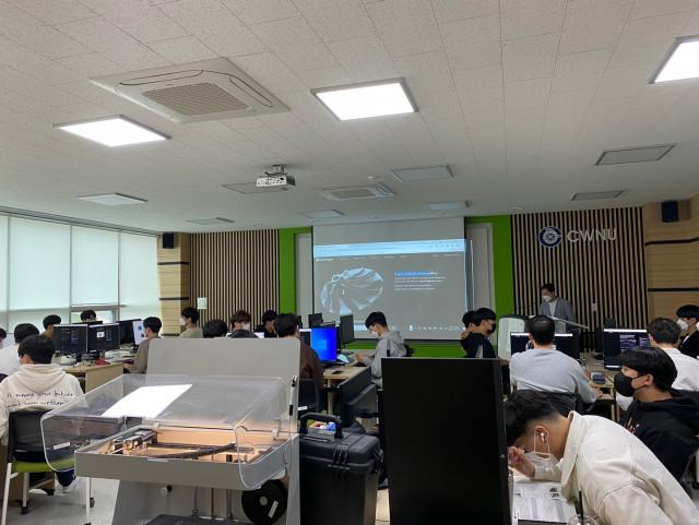 하비스탕스가 진행하는 적층 제조설계(DfAM) 전문가 과정인 '엔터프라이즈 디자인 II' 강의