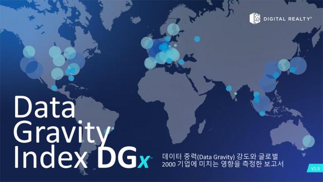 디지털리얼티의 데이터 중력 지표(Data Gravity Index, DGx™) 보고서