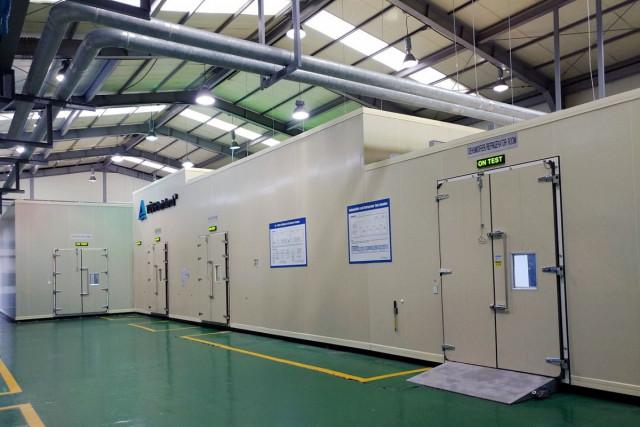 티유브이 라인란드 코리아 에너지 효율 시험소(공기 엔탈피 칼로리미터)