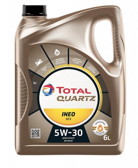 토탈 대표 제품 '토탈쿼츠 이네오 넥스 5W-30'
