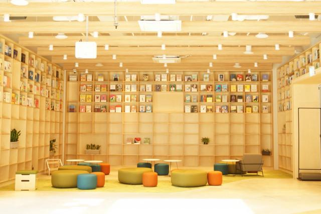 왕배푸른숲도서관 실내