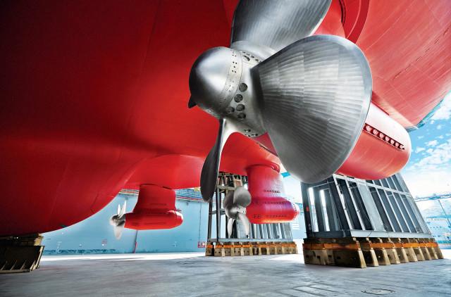 ABB는 30년 넘게 아지포드(Azipod®) 전기 추진기를 다양한 선박에 공급하고 있다