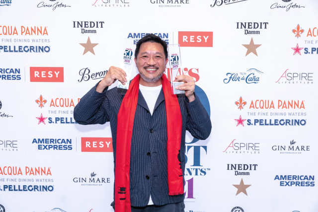 The Chairman In Hong Kong Takes No.1 Spot At Asia's 50 Best Restaurants 2021 Awards (Photo: Bus...