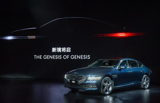제네시스 브랜드는 중국 상하이 국제 크루즈 터미널에서 '제네시스 브랜드 나이트'를 열고 중국 고급차 시장을 겨냥한 브랜드 론칭을 공식화했다