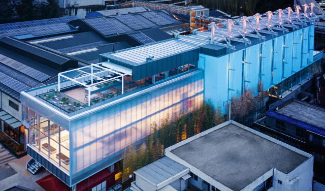현대모터스튜디오 부산 전경