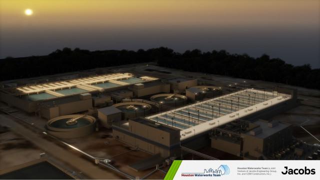 이미지 제공 - Houston Waterworks Team(Jacobs Engineering Group, Inc. 및 CDM Constructors, Inc.의 합작 투자회사)