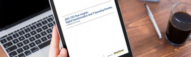 Global Survey Reveals CFOs Prioritizing Digital Transformation Investments