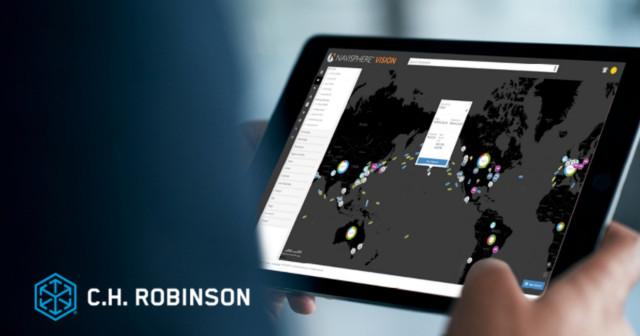 CH 로빈슨의 내비스피어 비전 플랫폼은 선주가 전 세계에서 공급망 차질을 추적, 모니터링하고 대처할 수 있도록 돕는다