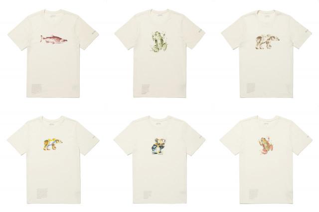 컬럼비아 지구의 날 그래픽 티셔츠