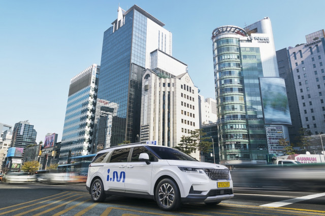 진모빌리티의 프리미엄 대형 승합택시 아이엠이 서울 전 지역 호출 서비스를 시작한다