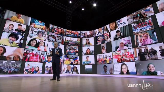 유사나코리아가 2021 아시아 퍼시픽 온라인 컨벤션 USANA LIVE를 성황리 종료했다