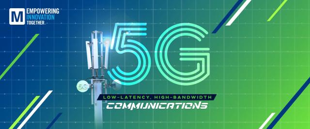 마우저가 5G 기술 주제로 팟캐스트에 데뷔했다