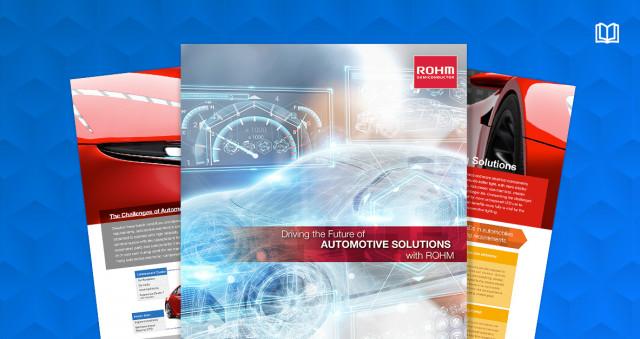 마우저와 로옴이 출간한 차세대 전기자동차용 전력 솔루션에 대한 전자책