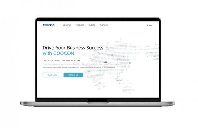 쿠콘 정보 API 스토어 쿠콘닷넷 영문 홈페이지 메인