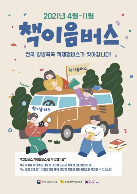 2021 책체험버스(책이음버스) 사업 포스터