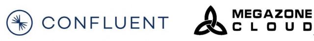 컨플루언트 로고와 메가존클라우드 로고