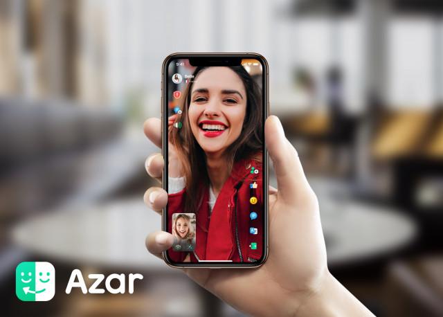 하이퍼커넥트의 글로벌 영상 메신저 아자르(Azar)
