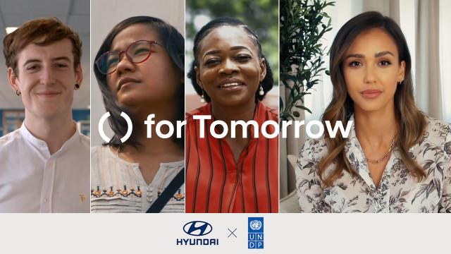 현대자동차가 UNDP와 지속 가능한 미래를 위한 솔루션을 첫 공개했다