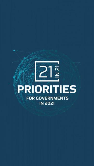 '2021년 정부에 대한 21가지 우선순위' 보고서가 팬데믹 이후 5대 복구 분야를 정의한다