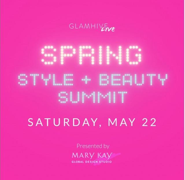 글램하이브의 디지털 스프링 스타일·뷰티 서밋에서 업계 전문가들과 스타일·뷰티 애호가들이 한데 모여 봄 스타일에 관해 이야기를 나눈다