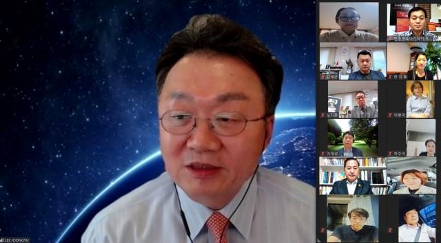 한중교류촉진위원회가 이준규 한국외교협회 회장(전 인도·일본 주재 대사)을 초청해 '대한민국 외교의 목표와 전략'을 주제로 특강을 개최했다