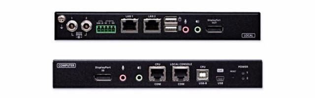 ATEN CN9950은 PGA 그래픽 프로세서를 적용해 최대 DCI 4K 해상도 작업 환경에서 가장 미려한 비디오 품질을 구현한다