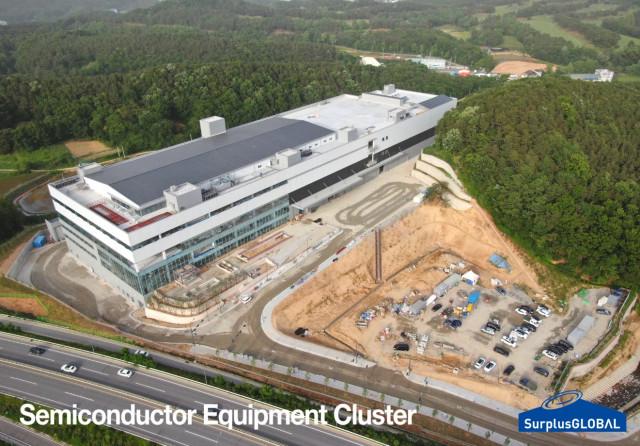 서플러스글로벌 용인시 신사옥 Semiconductor Equipment Cluster(7월 입주)