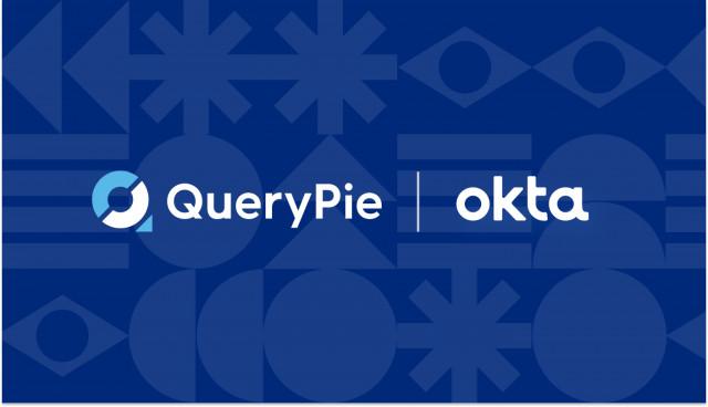 QueryPie, Okta 로고