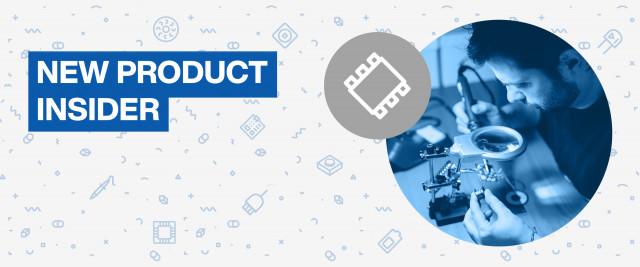 마우저 일렉트로닉스의 신제품 소개 공식 홈페이지