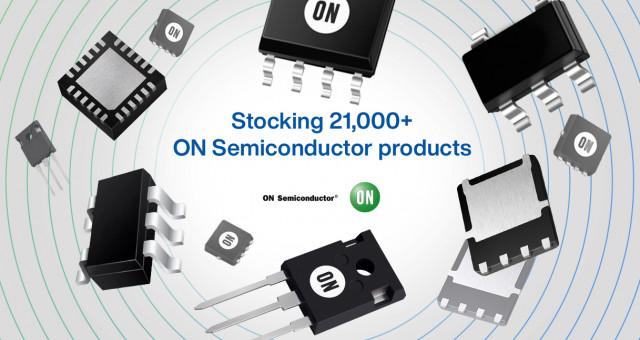 마우저 일렉트로닉스가 공급하는 온세미컨덕터 제품