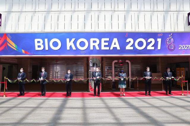 '바이오코리아 2021'이 6월 9일(수)부터 11일(금)까지 코엑스에서 열린다