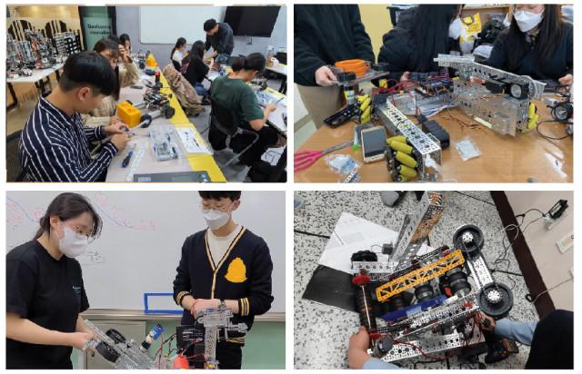 KLA Foundation 프로그램에 참가하면 장학물품으로 로봇 세트와 무상 교육을 받을 수 있다